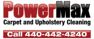 PowerMax Carpet Cleaning and Upholstery Cleaning Logo