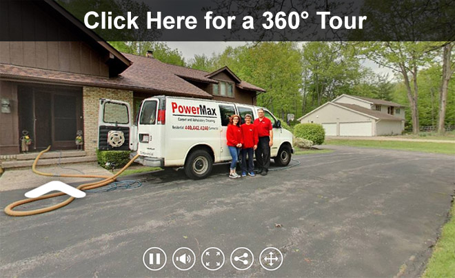 PowerMax Carpet Cleaning - 360 Tour of Business
